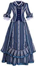 CosplayDiy Women's The Phantom of The Opera Christine Daae Cosplay Costume Christine Blue Wishing Gown Prom Dress XL