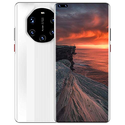 Lenove Mate40 RS Smartphone, 12/512GB ROM, 5G Dual Sim Android 10 Mobile Phone Unlocked, 7.2 Inches, 48MP Five Rear Cameras, 5800mAh Large Battery, Face ID, WiFi,Bluetooth,GPS