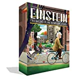 FAMOUS SCIENTISTS - Dive into the great mind of one of the most spectacular thinkers in the history of science, Albert Einstein, as he ponders physics, mathematics, chemistry, and philosophy! HIGHLY STRATEGIC - A tile placement game that puts your sp...