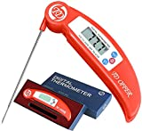 SAZACA Digitales Thermometer Küchenthermometer mit Food Grade Edelstahl Faltbare Sonde für Küche, Grill,Fleisch und Milch