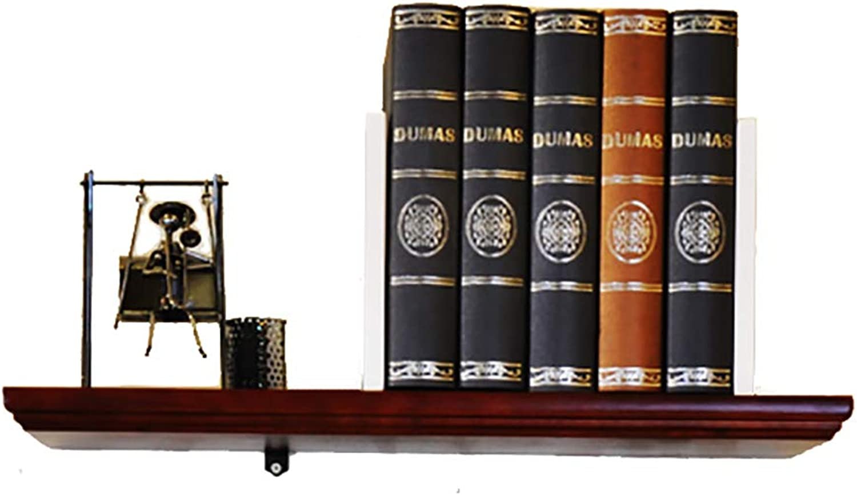CD Rack Floating Unit Frame Wall Bookshelf Separator Wood Wall Shelf Wall-Mounted Storage Rack Wall Decoration Retro Style (Size   30CM)