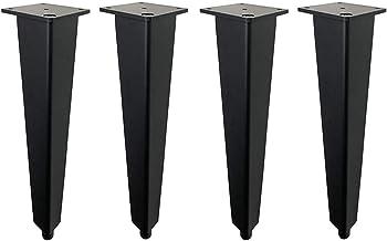 ZTMN Meubelpoten taps toelopend, bankvoeten, verstelbare hoogte, gebruikt voor bureaus, stoelen, bedden, kasten, waterdich...
