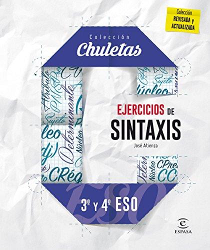 Ejercicios de sintaxis 3º y 4º para la ESO (CHULETAS)