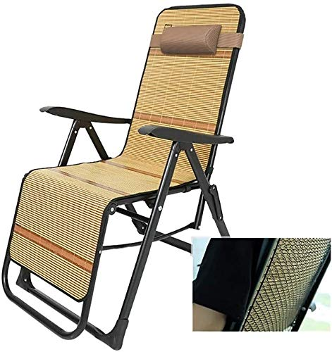 DFVV Tumbonas Tumbonas sillas reclinables jardín Silla de Playa reclinables Tumbona