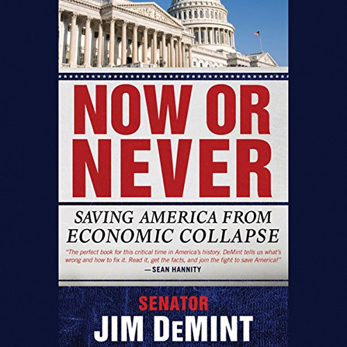 Now or Never: Saving America from Economic Collapse audiobook cover art