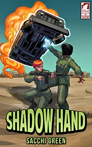 Shadow Hand (The Superheroine Collection Book 4)