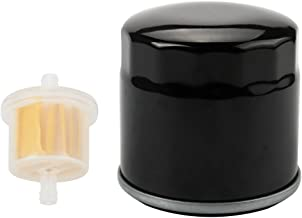 Harbot 120-4276 127-9222 Oil Filter with Fuel Filter for Toro 136-7848 ZS SW SS MX SWX HD Timecutter Riding Mower