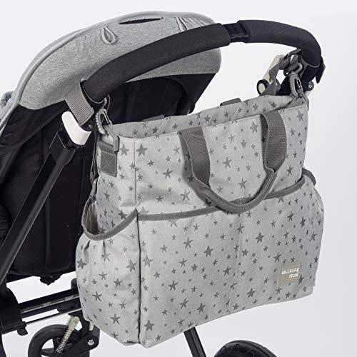 Walking Mum Inpiration - Borsa per passeggino, colore: Grigio