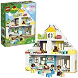 LEGO 10929 DUPLO Unser Wohnhaus 3-in-1-Set, Puppenhaus für Mädchen und Jungen ab 2 Jahren mit...