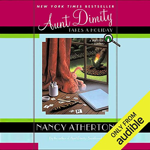 Aunt Dimity Takes a Holiday audiobook cover art