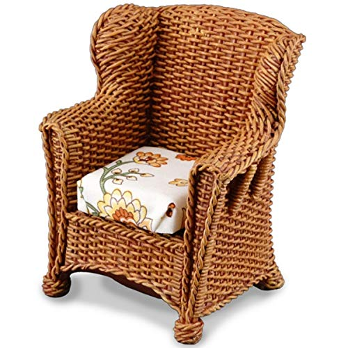 Brown Wicker Garden Chair