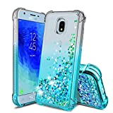 Tmacker Samsung Galaxy J3 2018 Case,Galaxy J3 Star/J3 Orbit/J3 VJ3 Achieve/J3 Top/Sol 3 Phone Case,Shockproof Protective Phone Cover for Girls Women,Teal