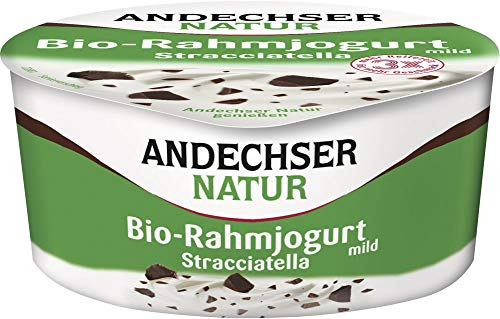 Andechser Natur Bio Bio Rahmjogurt Stracciatella 10% (6 x 150 gr)