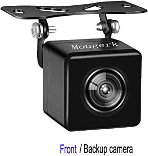 Front Rear View Backup Camera HD 170 Degree Wide Angle Waterproof Nigh Vision Reverse Cameras for 12V Cars