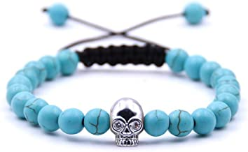 Zgrjiueryi armband van steen, doodshoofd-accessoires, micro-armband