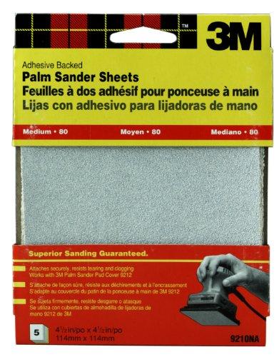 3M 9210DC-NA Medium Adhesive Backed Palm Sander Sheets