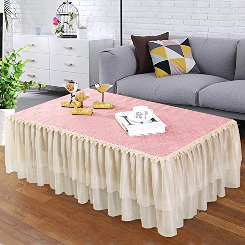 ONETWO Coffee table Nappe rectangulaire,Meuble tv Nappe polyester rectangle impression Mobilier européen Dust-proof tablecloth Chaussure armoire comptoir tissu -C 79*18inch