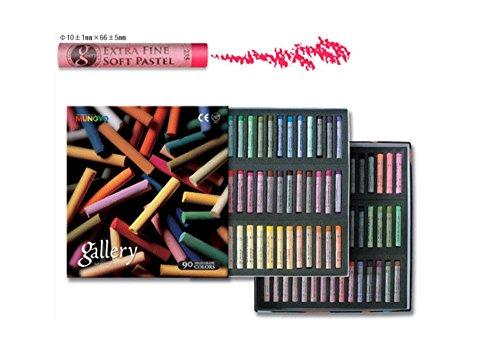 à l'Professional – Galerie Extra Fine pastels 90 Assortiment de couleurs pour artiste Mpa90