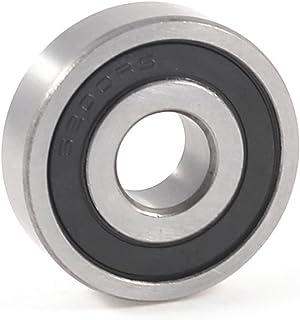 10pcs 5/x 10/x 4/mm metal Sellado MR105ZZ Rodamiento blindado bolas a Garganta Profunda