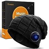 OCOOPA Bonnet Bluetooth, Son supérieur avec des écouteurs sans Fil Bluetooth 5.1, durée de Lecture illimitée, étanche IPX5, Design détachable, idéal pour Les Hommes et Les Femmes