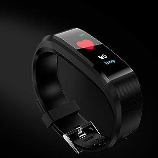 Gugutogo Reloj Deportivo Inteligente a Prueba de Agua Reloj Pulsera Actividad Rastreador de Ritmo cardíaco Pulsera Reloj Inteligente Unisex