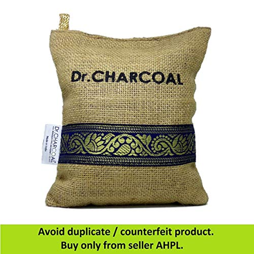 Dr. CHARCOAL Non-Electric Air Purifier, Deodorizer and Dehumidifier for Living Room, Kids Room,...
