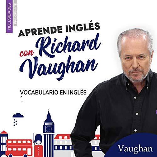 Diseño de la portada del título Vocabulario en Inglés 1