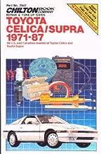 CH7043 Chilton Toyota Celica Supra 1971-1987 Repair Manual