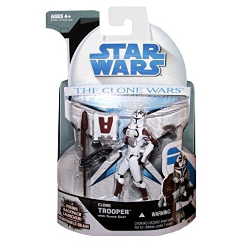 Hasbro Clone Trooper with Space Gear CW21 - Star Wars The Clone Wars 2008
