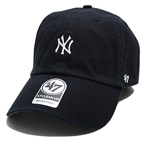 【B-BSRNR17GWS-BK】 フォーティーセブンブランド 47BRAND ローキャップ CAP MLB メジャーリーグ ニューヨーク ヤンキース 正規品 (01)黒 Fサイズ(男女兼用)