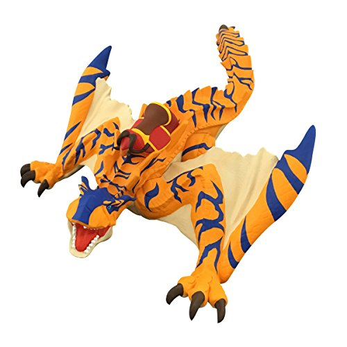 BANDAI ???? Monster Hunter Stories: Ride On Otomon Soft Vinyl Series Action Figur: Tigrex