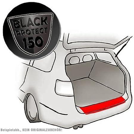 Passend Für Seat Leon St Kombi Passform Lackschutzfolie Als Selbstklebender Ladekantenschutz Autofolie Und Schutzfolie Schwarz Matt Black 150µm Auto