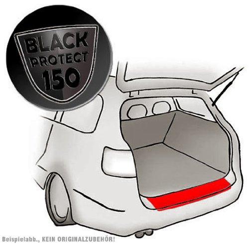 passend für VW T5 Multivan - Passform Lackschutzfolie als Selbstklebender Ladekantenschutz (Autofolie und Schutzfolie) schwarz matt/Black 150µm
