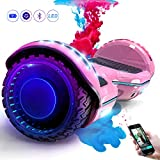 COLORWAY Self Balancing Scooter Hoverboards 6.5'' SUV - Segway Electric Scooter Off-Road - Bluetooth Speaker...