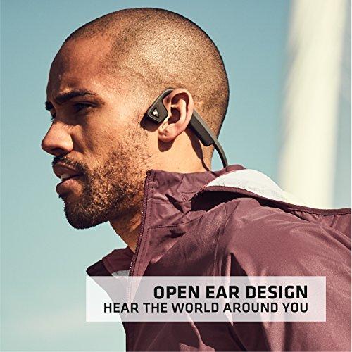 AfterShokz Trekz Titanium - Écouteurs à Conduction Osseuse (Oreilles Libres/Open Ear),Casque Audio...
