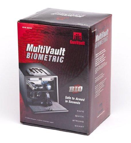 GunVault GVB2000 Multivault Biomtrc 10X8X14, Multi Vault