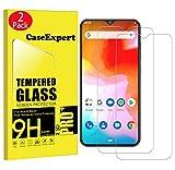 CaseExpert 2 Pack - Cubot P30 Protector de Pantalla, Ultra Tanque Transparente Cristal 9H Cristal Templado Glass Protector de Pantalla para Cubot P30