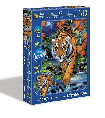 Puzzle de 1000 Piezas Magic Effect 3D, diseño On The Prowl (391851)