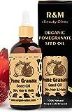 R&M Granatapfelkernöl Bio – Premium Granatapfelöl kaltgepresst für Gesicht und vieles mehr – Bekämpft Akne und Haarausfall und verbessert das...