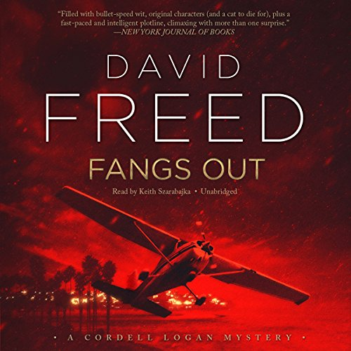 Fangs Out audiobook cover art
