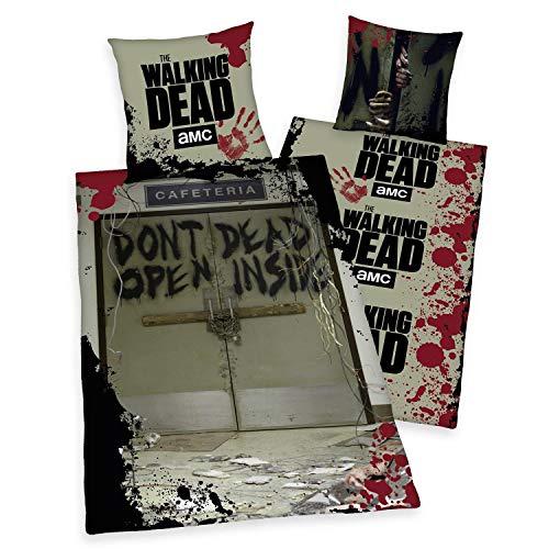 The Walking Dead Bettwäsche Dont Open Dead Inside - Fotodruck, aus 100{3f3c7b7c501fea7e184553c6df104d4cf9bb4919979d96bbda7ba2f3f7b348be} Baumwolle/Renforce (80x80/135x200cm), mit Reißverschluss.