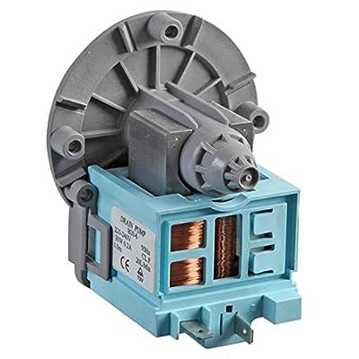 SPARES2GO Drain Pump for Bush Washing Machine and Dishwasher (240V)