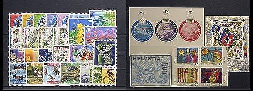 Goldhahn SchWeiß 2000 postfrisch  Nr. 1709-1745 Block 30 Briefmarken für Sammler