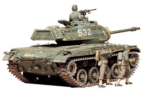 Tamiya 300035055 - Carro Armato Americano M41 Walker Bulldog (3), 1:35