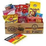 Ostpaket Süße Verführung klein mit 13 Produkten Spezialitäten Spezialitätenpaket Geschenkset Ostprodukte DDR Geschenkidee