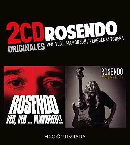 Rosendo -Veo Veo Mamoneo  /  Vergüenza Torera  (2 CD)