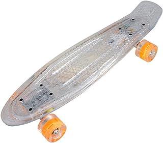 Massage-AED Patinetas Completas De 24 Pulgadas, Patinetas Skate 4 Ruedas Mini Cruiser Classic Skateboard para Niños, Niña...