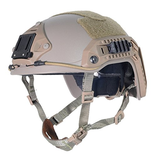 Lancer Tactical CA-806T Maritime ABS Helmet Color: Dark Earth, Size: Large to X-Large