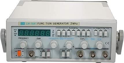 Signal Generator, KKmoon LW-1641 Wave Digital Function Signal Generator 0.1Hz-2MHz Frequency AC 220V