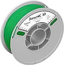 DURAMIC 3D Premium PLA Plus (PLA+) Printer Filament 1.75mm Green, 3D Printing Filament 1kg Spool(2.2lbs), No-tangling No-Clogging Dimensional Accuracy +/- 0.05 mm